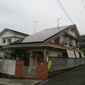I様邸【太陽光発電システム】