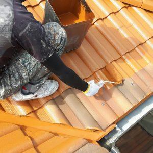 M様邸【屋根塗装・太陽光パネル洗浄防汚コーティング】
