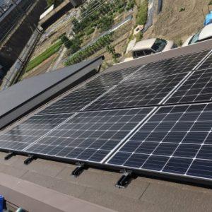 T様邸【太陽光発電連携型蓄電システム・太陽光パネル洗浄防汚コーティング】