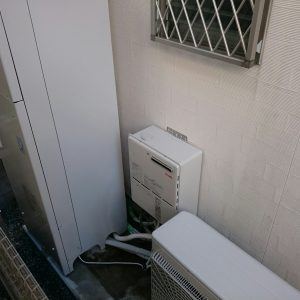 S様邸【エコキュート・ガス暖房熱源機】